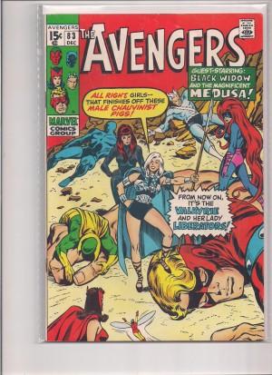 Avengers #83 FN – a