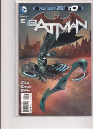 Batman 2012 #0 Variant – a