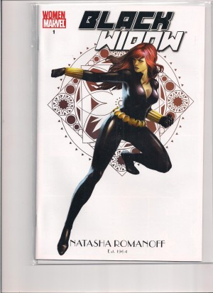 Black Widow Women of Marvel #1 Variant – a