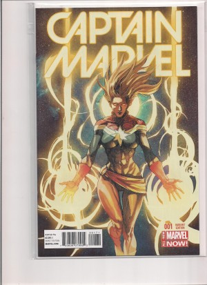 Captain Marvel #1 Variant – a
