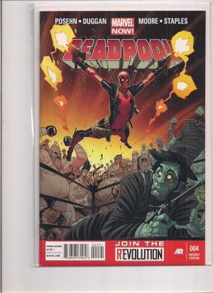 Deadpool 2012 #4 1-50 Variant – a
