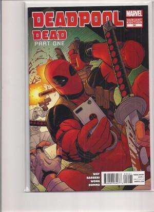 Deadpool 2014 #50 1-50 FN – a