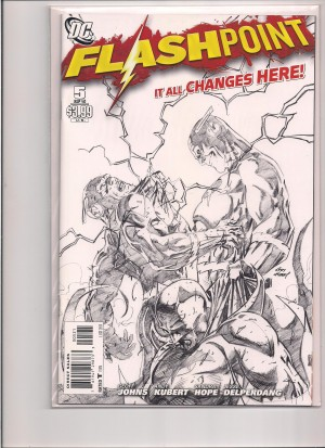 Flashpoint 2011 #5 1-25 Sketch – a