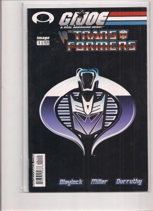 GI Joe Vs Transformers 2003 #1 2nd Print – a