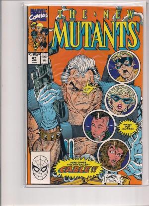 New Mutants #87 FN 7-22-16