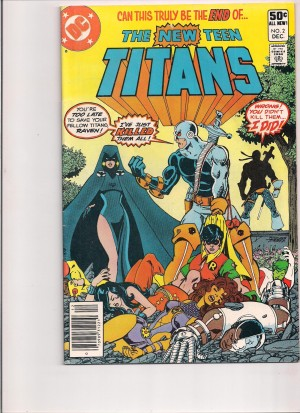 New Teen Titans 1980 #2 FN front – 7-20-16