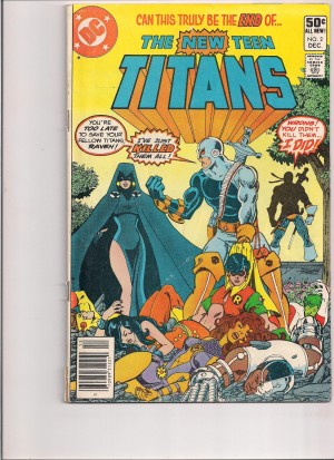 New Teen Titans 1980 #2 GD-VG front – 7-20-16