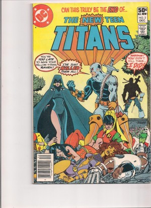 New Teen Titans 1980 #2 VG front – 7-20-16