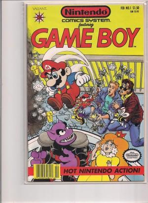 Nintendo Comics Systems featyring Game Boy 1991 #1 – a
