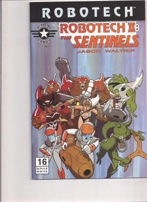 Robotech II the Sentinels Book III #16 – 6-30-16
