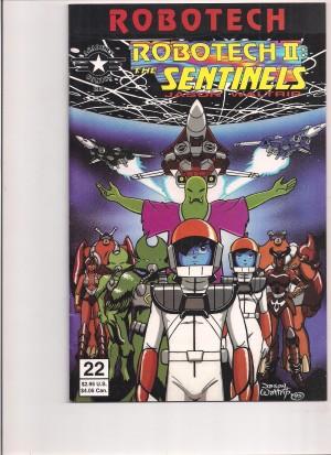 Robotech II the Sentinels Book III #22 – 6-30-16