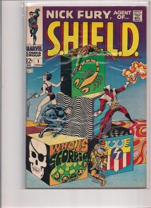 SHIELD 1968 #1 – b