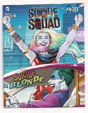 Suicide Squad 2016 Mini Splat Comic