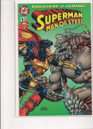 Superman MOS #1 Kenner Doomsday – a