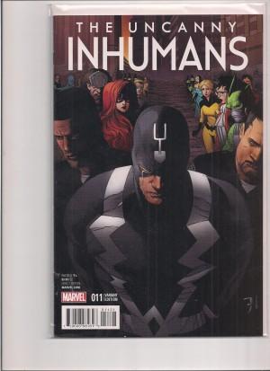 Uncanny Inhumans 2016 #11 Variant – a