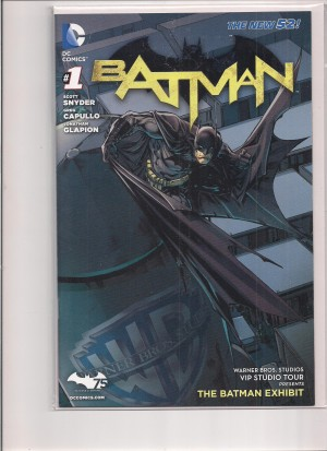 Batman 2011 #1 Exhibit – a