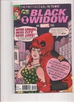 Black Widow #11 Deadpool Variant - a