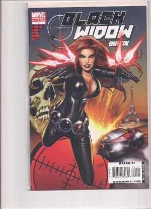 Black Widow Deadly Origin #1 Variant – a