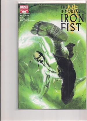 Immortal Iron Fist 2006 #1 2nd Print – a