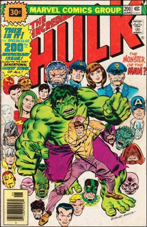 Incredible Hulk 1976 200 30cent price