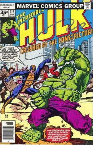 Incredible Hulk 1977 212 35cent cover