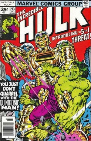 Incredible Hulk 1977 213 35cent cover