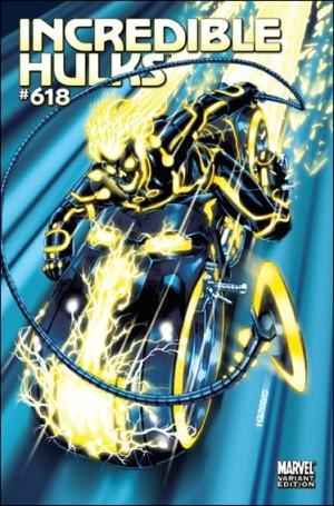 Incredible Hulks 2011 618 1-15 Tron Ghost Rider