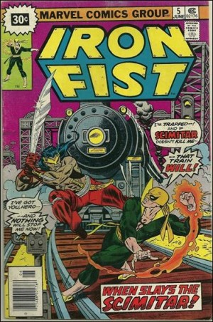 Iron Fist 1976 5 30cent cover