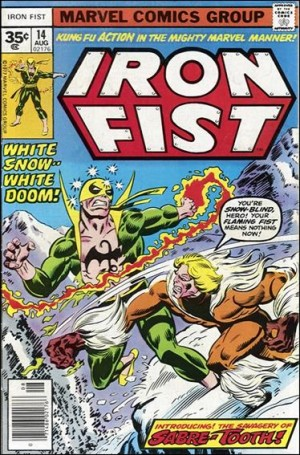 Iron Fist 1977 14 35cent cover