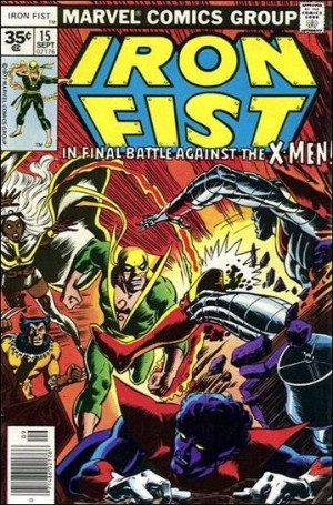 Iron Fist 1977 15 35cent cover