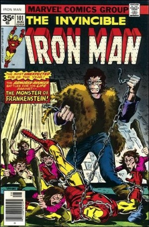 Iron Man 1977 101 35centcover