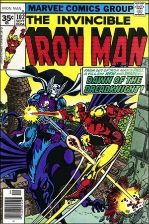 Iron Man 1977 102 35centcover