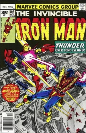 Iron Man 1977 103 35centcover