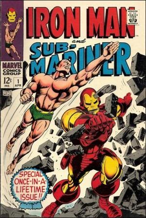 Iron Man and Sub Mariner 1968 1