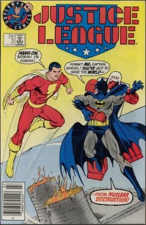 Justice League 1987 3 superman logo test cover