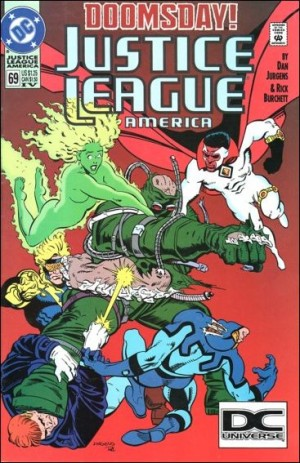 Justice League America 1992 69 4th print