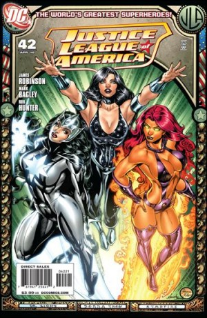 Justice League of America 2010 42 1-25