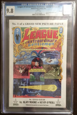 League of Extraordinary Gentlemen #1 Circut City 9.8 – a