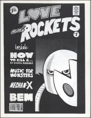 Love and Rockets 1982 1 bw