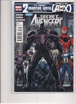 Secret Avengers #23 FN – a
