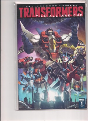 Transformers Till All Are One 2016 #1 1-25 Variant – a