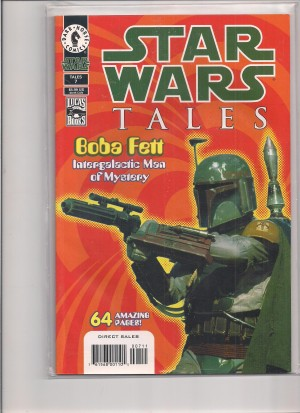 Star Wars Tales #7 Fett Photo Variant – a