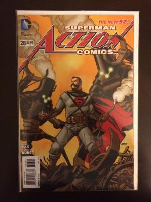 Action Comics 2014 #28 Variant -a