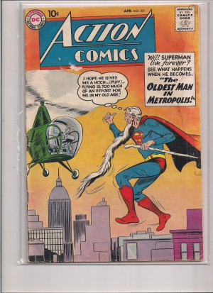 Action Comics #251 Supergirl preview ad – a