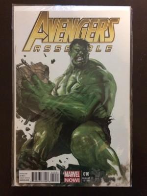 Avengers Assemble #10 1-50 Variant Hulk – a