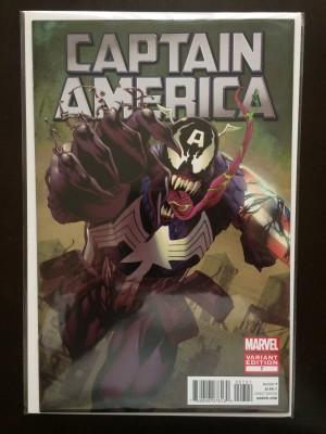 Captain America 2012 1-50 Venom Variant – a