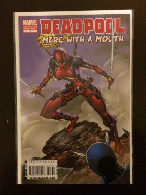 Deadpool Merc With A Mouth #7 3rd Print – a
