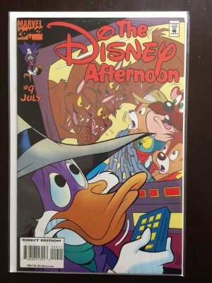 Disney afternoon featuring Darkwing Duck #9 – a