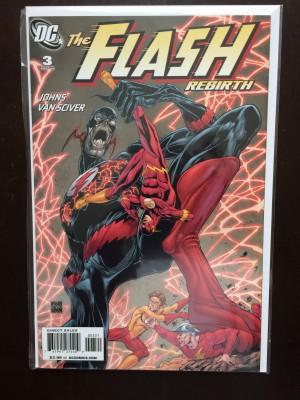 Flash Rebirth 2009 #3 Variant – b