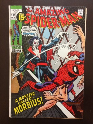 Spiderman #101 – 1-13-17 front
